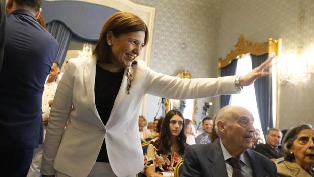 Isabel Bonig, en la sesión de constitución del Ayuntamiento de Alicante