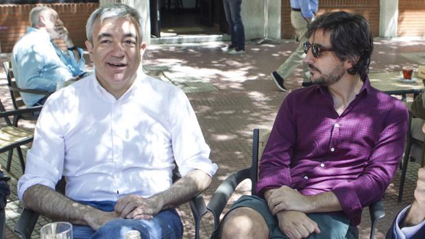 Luis Garicano y Toni Roldán, en una imagen de archivo