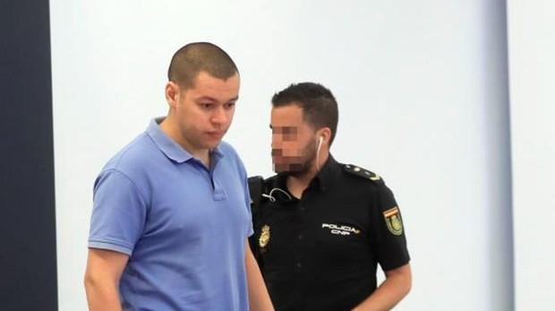 El acusado Karim il Idrissi Soussi