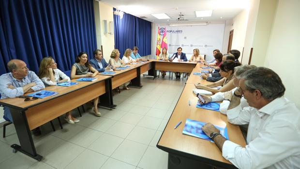 Reunión del Comité de Dirección del PP de Castilla-La Mancha, este miércoles en Toledo