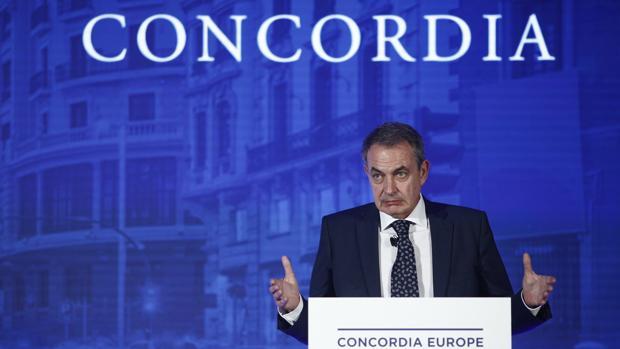 Zapatero en Concordia Europe - AmchamSpain Summit
