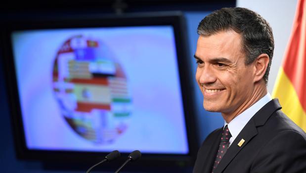 El presidente del Gobierno, Pedro Sánchez, este martes en su comparecencia posterior al Consejo Europeo