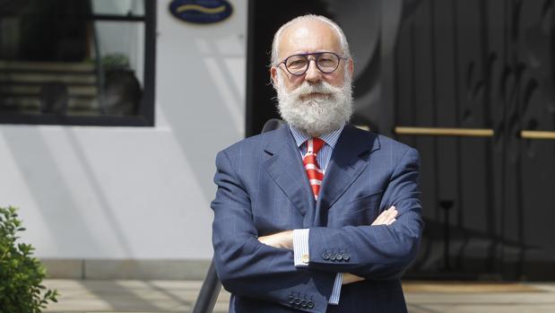 Mariano Gómez-Ulla, presidente del Club Financiero Atlántico