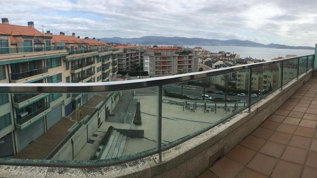 Uno de los pisos a la venta en Sanxenxo