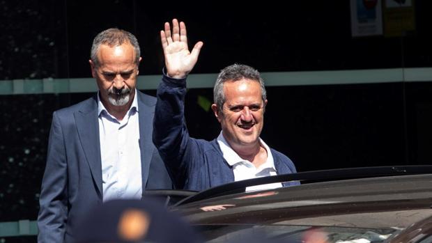Exconsejero del Interior de la Generalitat de Cataluña, Joaquim Forn