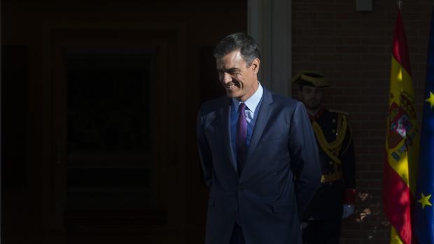 Imagen de archivo del presidente del Gobierno en funciones, Pedro Sánchez, en La Moncloa
