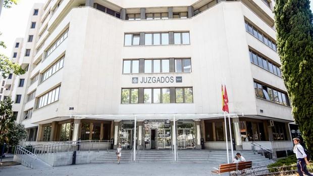 Los juzgados de la plaza de Castilla de Madrid, desde donde se investigan gran cantidad de delitos