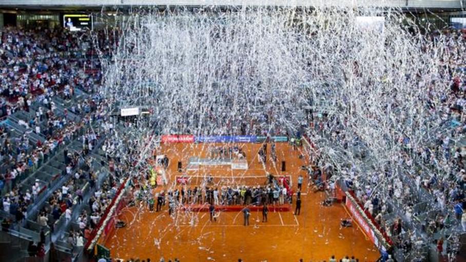 El Ayuntamiento aprueba el contrato para celebrar la Copa Davis en la Caja Mágica
