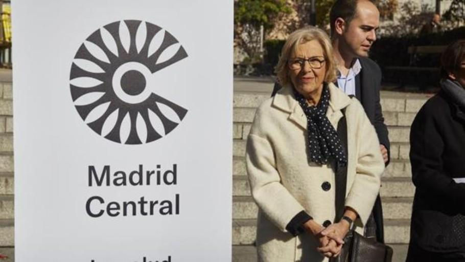 Carmena ocultó una encuesta que alertaba de la falta de información sobre Madrid Central