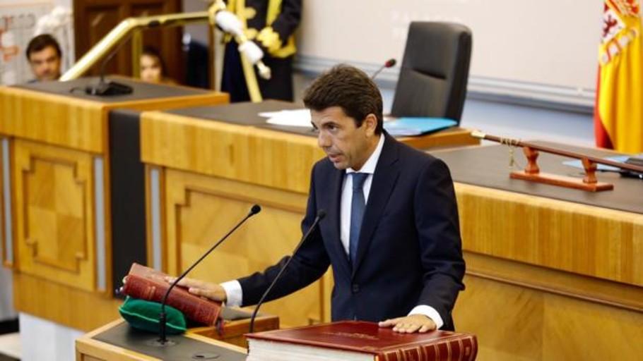 Carlos Mazón, elegido nuevo presidente de la Diputación de Alicante
