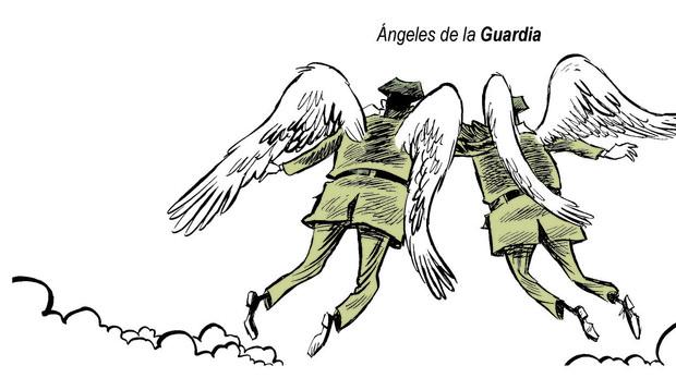 Ángeles de la Guardia. A la Guardia Civil y sus caidos, os admiramos, os necesitamos, en memoria de Raúl Centeno Bayón y Fernando Trapero Blázquez