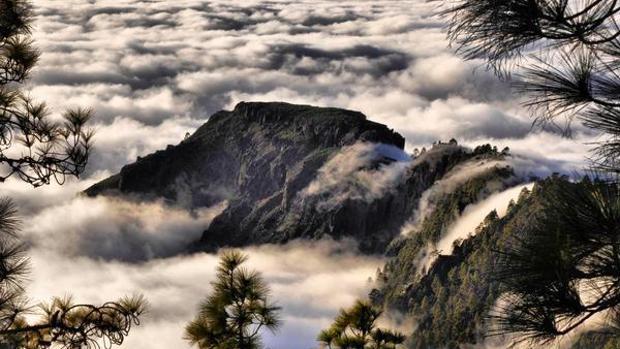 Mar de nubes en Tamabada