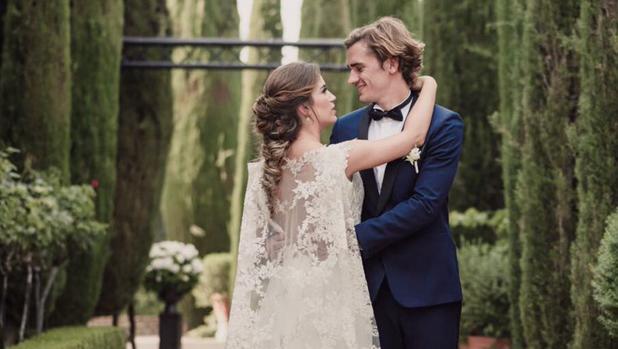 Choperena y Griezzman, el dia de su boda