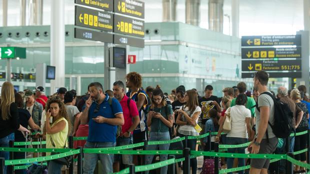 El aeropuerto de Barcelona en una imagen de archivo