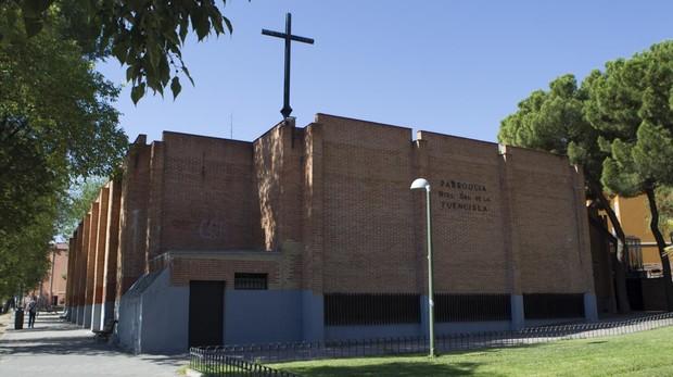 Fachada de la iglesia Nuestra Señora de la Fuencisla