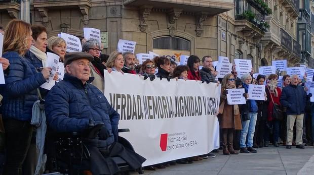 Una concentración de Anvite el pasado mes de diciembre