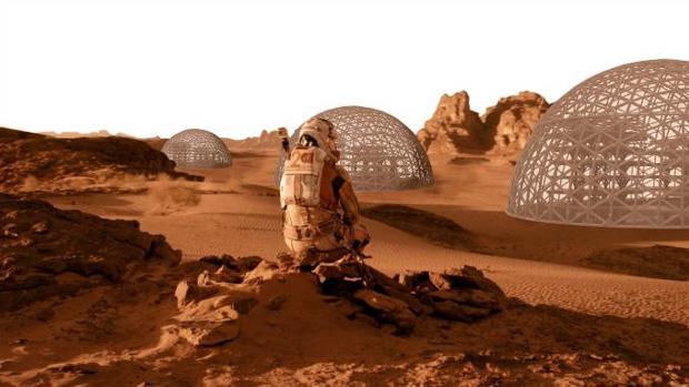 Imagen virtual de las cúpulas diseñadas en el proyecto de la Universitat Politècnica de València