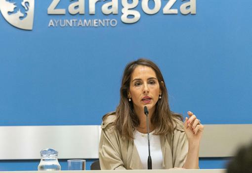María Navarro (PP), consejera municipal de Hacienda
