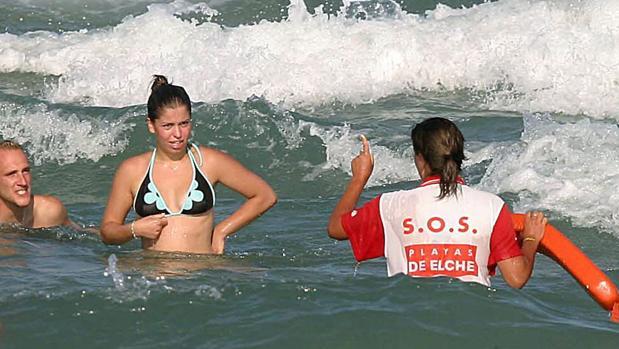 Imagen de archivo de la playa del Rebollo (Elche)