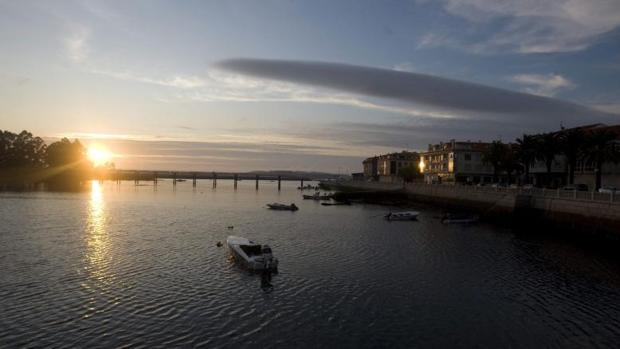 Una vista de Vilanova de Arousa, en la comarca de O Salnés, en Pontevedra