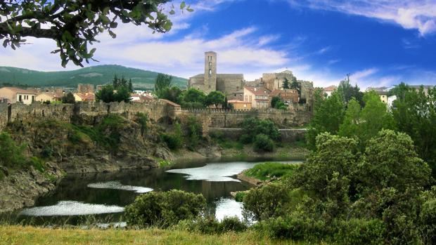 Vista panorámica de Buitrago del Lozoya