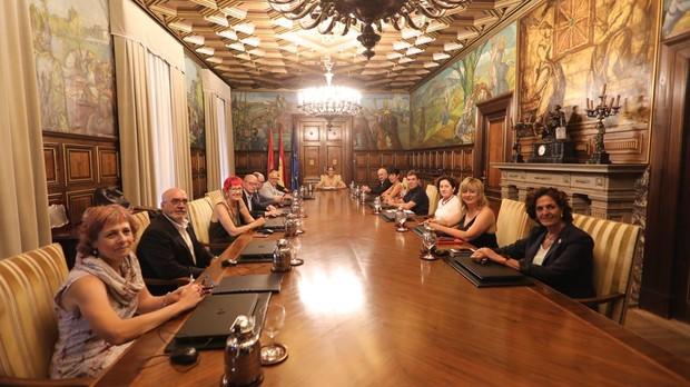 El Ejecutivo foral en un Consejo de Gobierno
