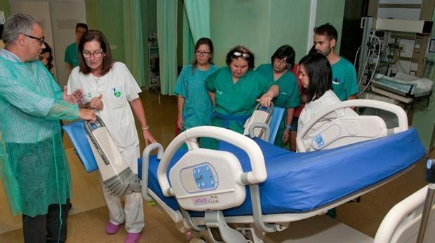 Uno de los quirófanos del hospital de Guadalajara