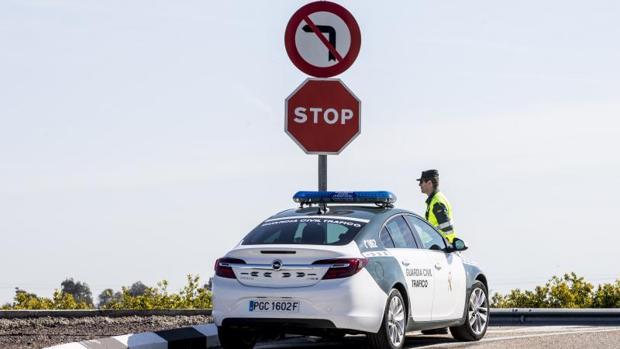 Efectivos de la Guardia Civil de Tráfico