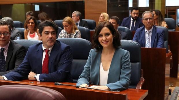 David Pérez, Paloma Martín y Enrique Ruiz Escudero completan el Gobierno de Díaz Ayuso
