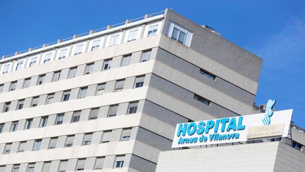 Imagen de archivo del Hospital Arnau de Vilanova en Valencia