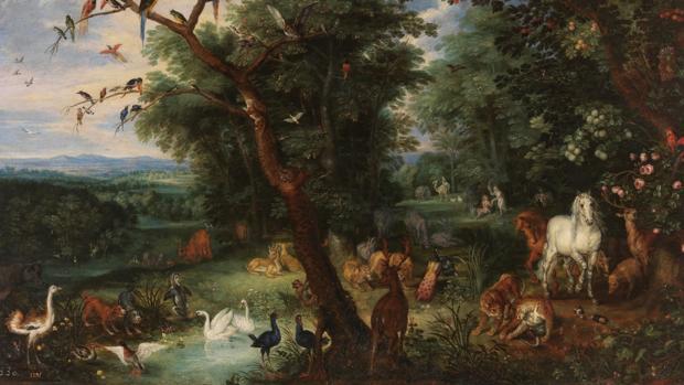 «El paraíso terrenal», Pieter Brueghel el Joven