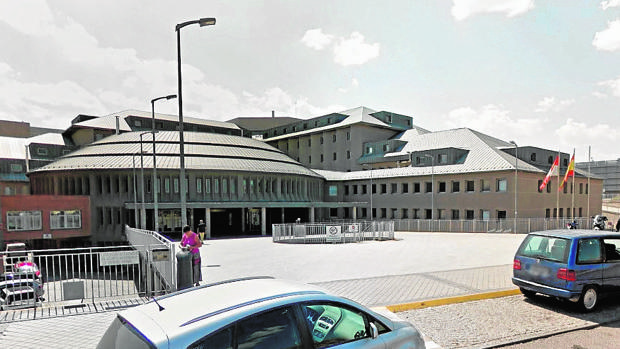 El paciente por posible listeriosis ingresó el domingo en el Hospital General de Segovia