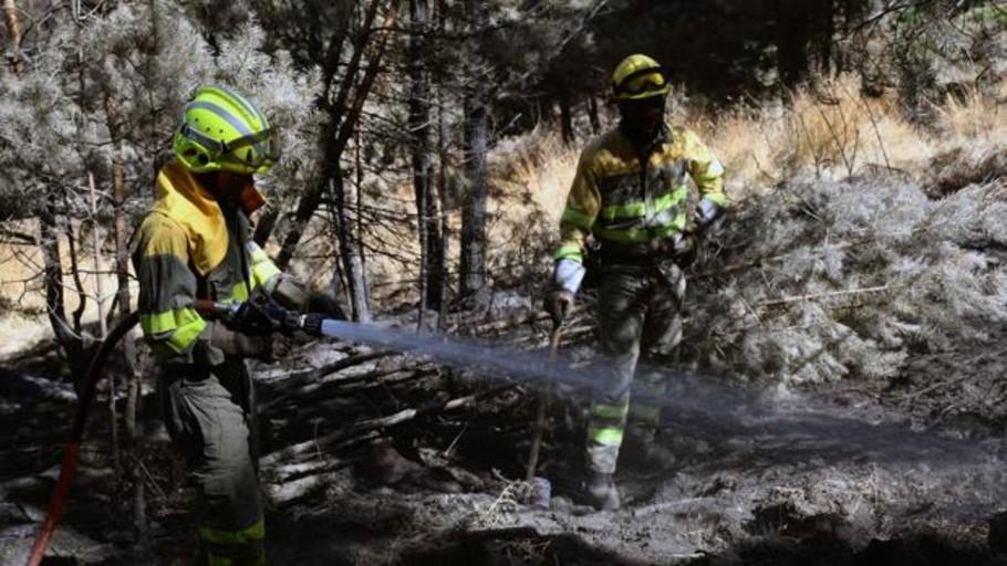 Extinguido tras 18 días el incendio de La Granja