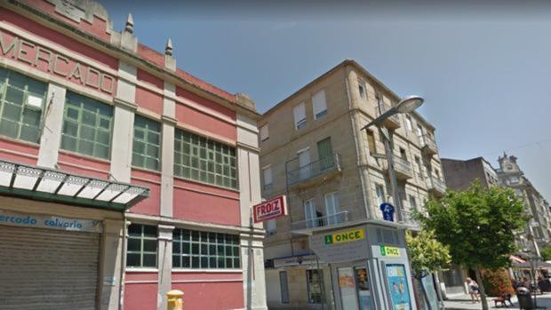 El barrio del Calvario, en Vigo, donde se produjeron los hechos