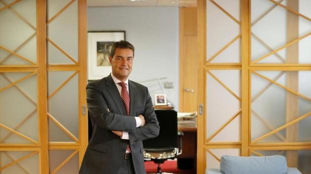 Ángel Ibáñez, en su despacho de la Consejeria de Presidencia