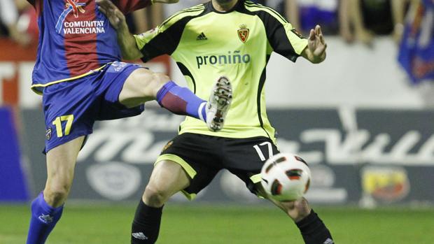Imagen del partido Levante-Zaragoza, jugado en 2011