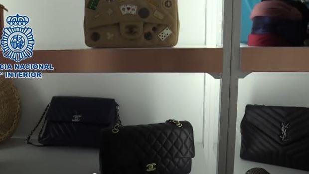 Productos falsos de lujo