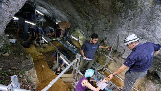 Yacimiento arqueológico de Cova Eirós