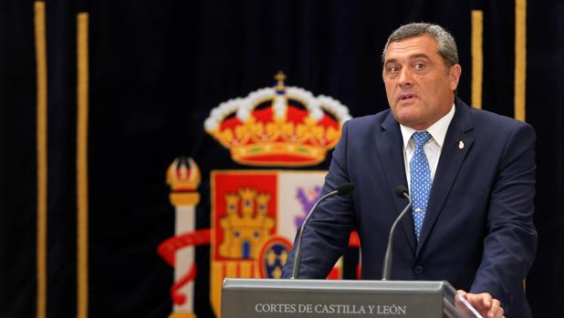 El ahora procurador de «Por Ávila» en las Cortes de Castilla y León, José Pedro Pascual, en una imagen de archivo