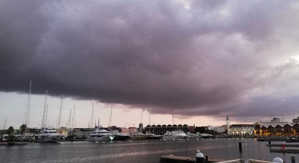 Imagen tomada en el puerto de Valencia