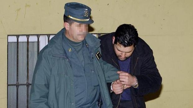 Imagen del preso en la Audiencia Provincial de Málaga, en 2005