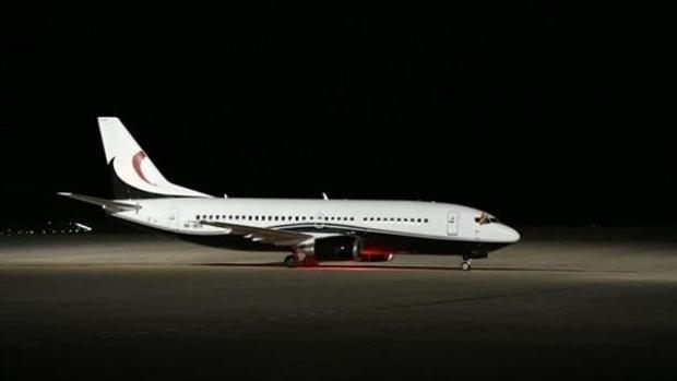 Primer avión en el aeropuerto de Ciudad Real tras su reapertura