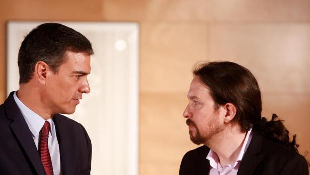 Sánchez e Iglesias afilan sus relatos para enfrentarse el 10-N