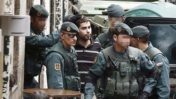Detención de dieciocho miembros de Herrira por parte de la Guardia Civil