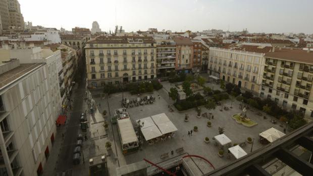 Vista aérea de la Plaza de Pedro Zerolo