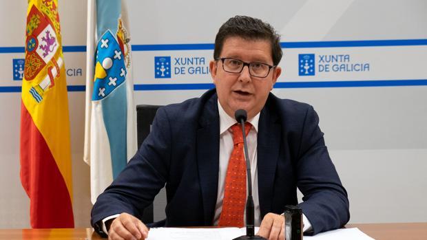 El director general de la Función Pública, José María Barreiro, este miércoles en rueda de prensa