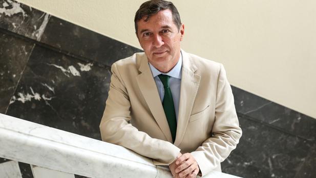 Juan Ramón Brigidano posa para ABC