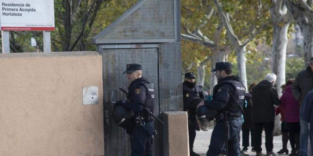 Los Tedax detonan un artefacto explosivo en el centro de menas de Hortaleza