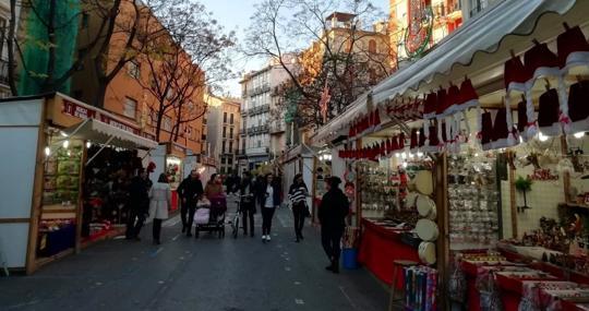 Imagen de archivo del Mercado de Navidad