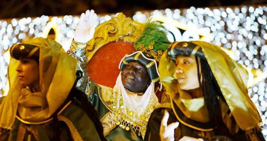 Imagen de archivo de la cabalgata de los Reyes Magos en Valencia